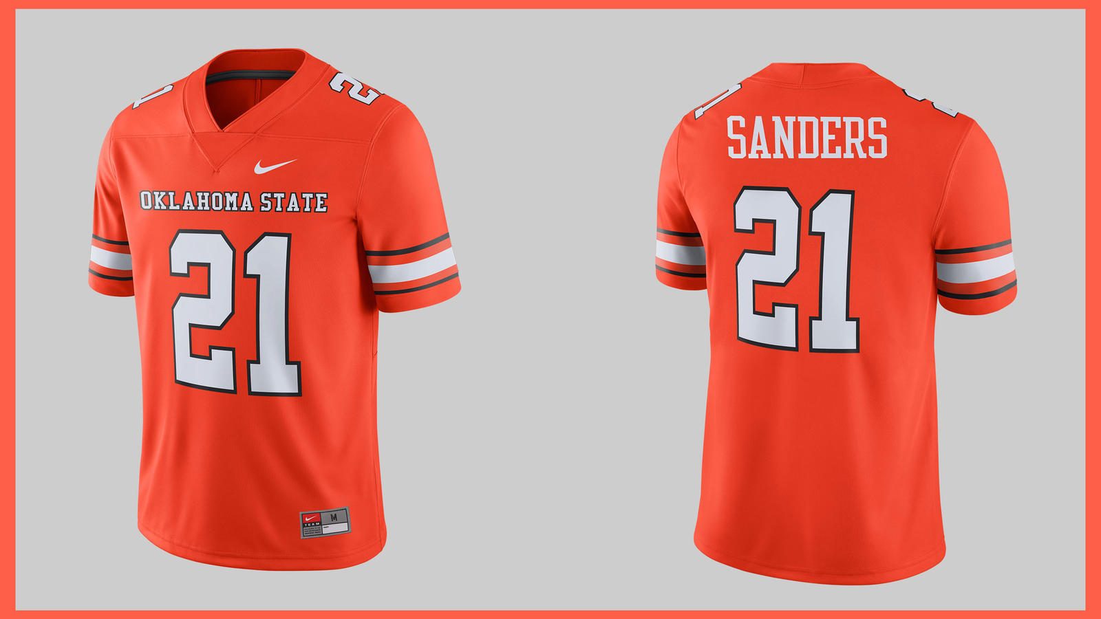 a74dd4faf8ca These Oklahoma State Throwbacks Celebrate Barry Sanders  Heisman Season 0