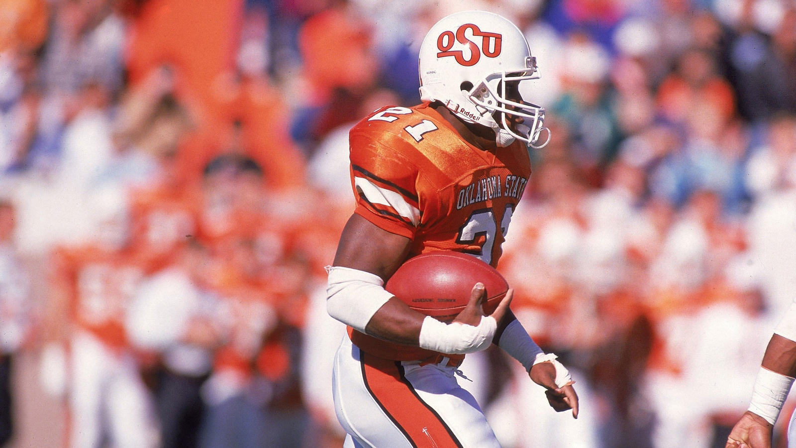 Oklahoma State University Barry Sanders Throwback Jerseys