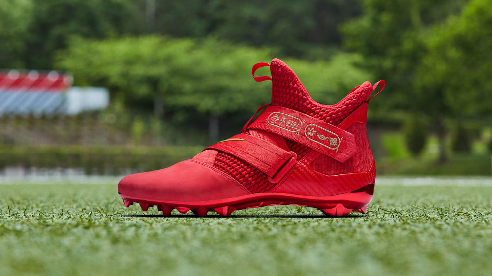 Check Out OBJ's Flood-Red Take on LeBron's Soldier XII