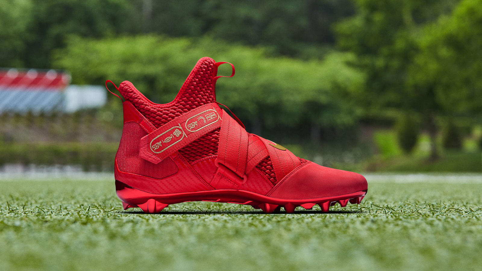 detailed look b75d7 ec7d6 Nike LEBRON Soldier 12 Cleat (Odell Beckham Jr. Special Edition) 1