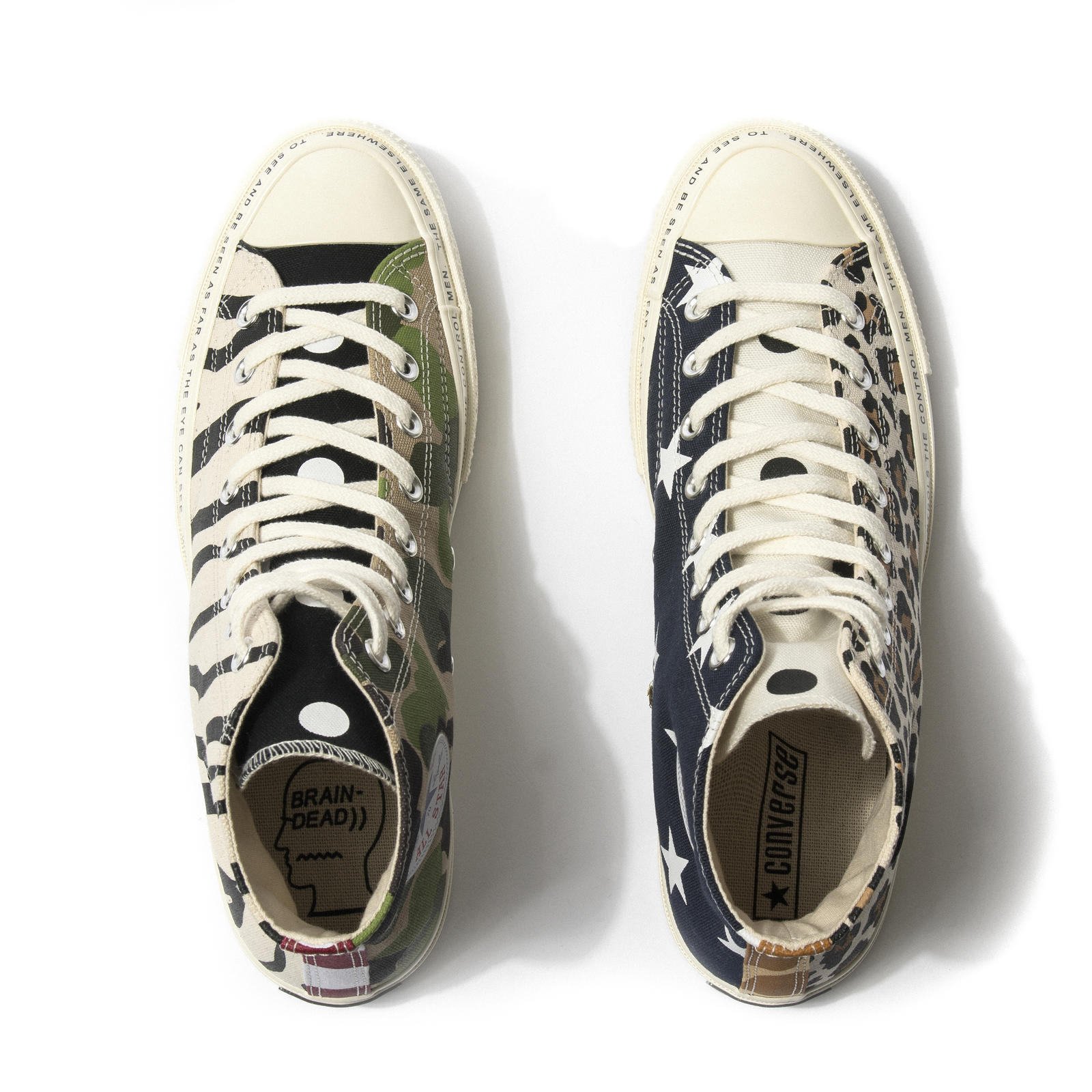 bfd38e36993 Converse x Brain Dead Chuck 70 and Apparel Collection - Nike News