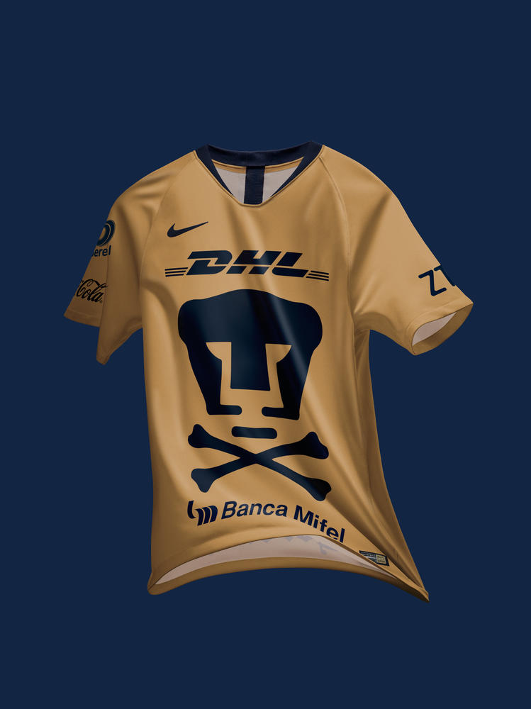 Pumas Releases Special Day of the Dead Jersey
