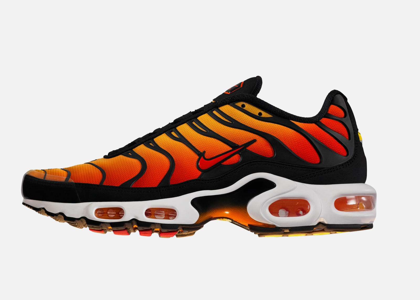 Herren Nike Air Max TN Schuhe Marine Gold Orange Weiß