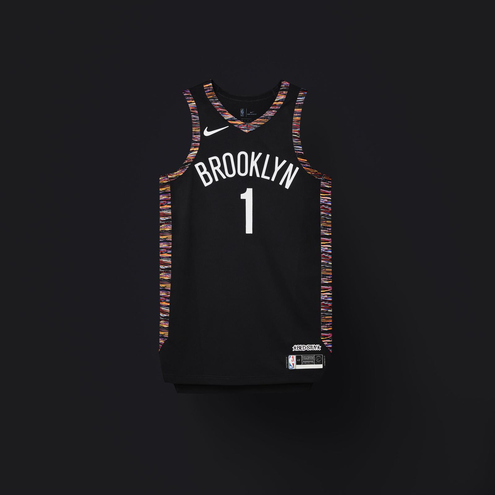 black nba jersey
