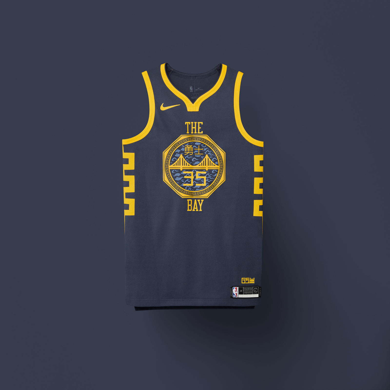 Golden State Warriors New Stadium: NBA City Edition Uniforms 2018-19