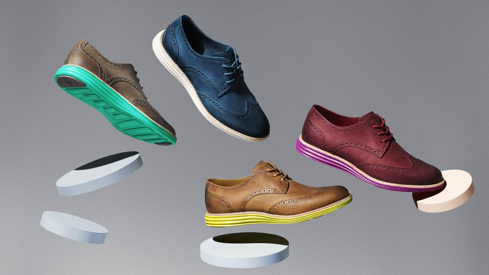 Cole Haan Leather LunarGrands