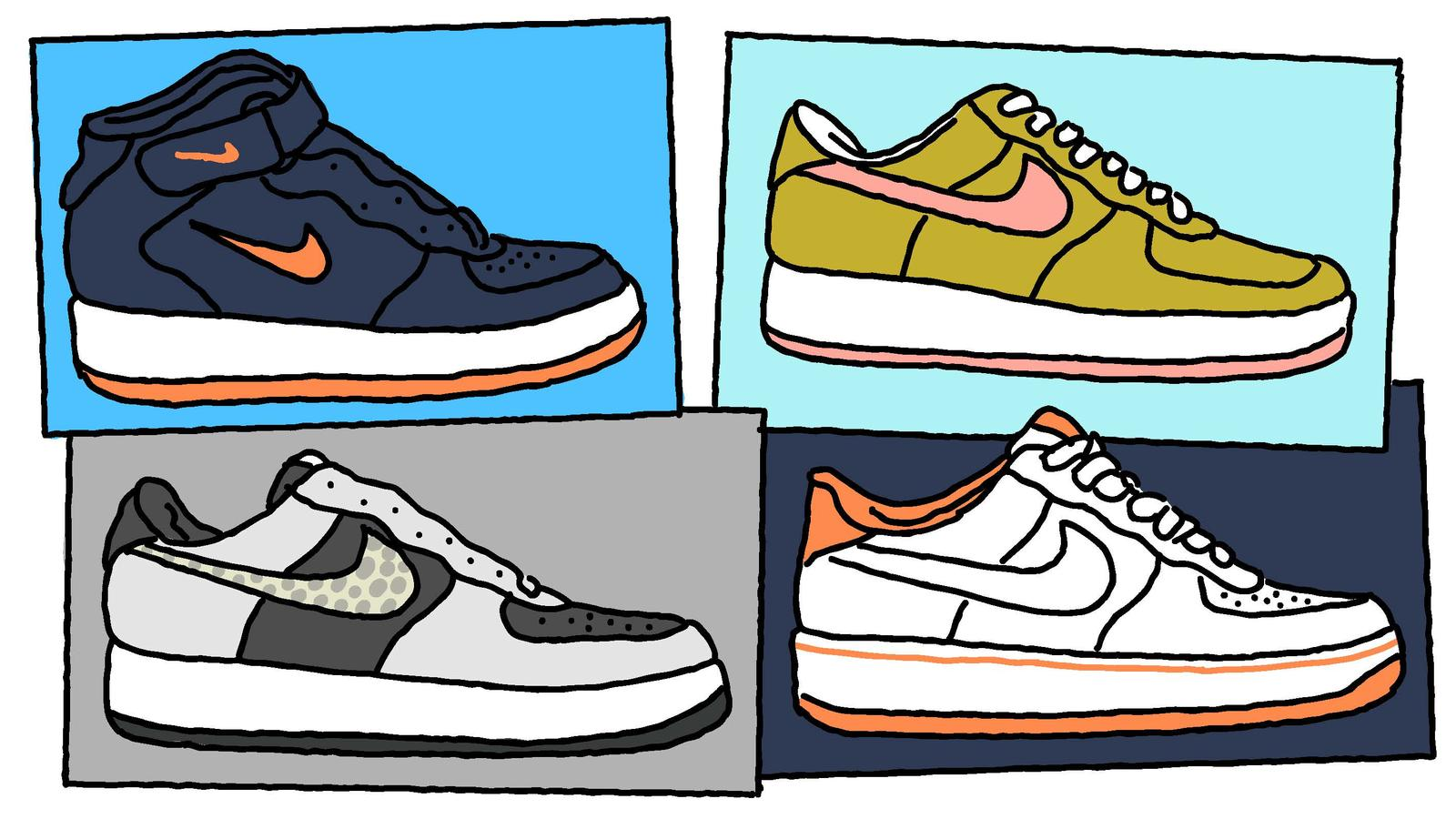 Nike Air Force 1 Visual History Nike News
