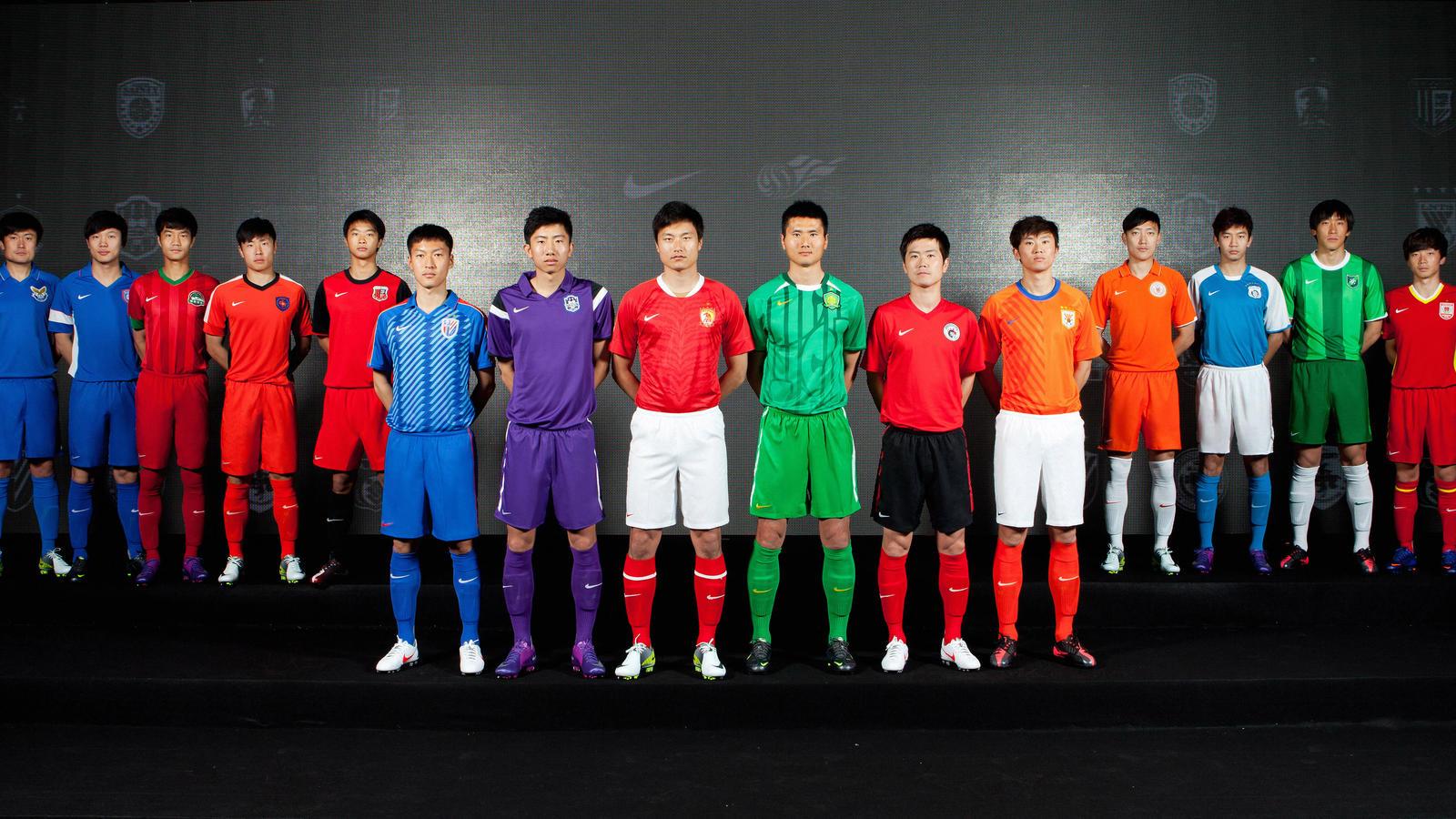 caedd7bde33 China Super League group shot. China Super League group shot.  China Super League group shot. China Super League group shot.  China Super League group shot