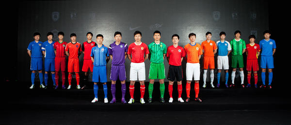 Nike Football unveils 2012 Chinese Super League Team Kits