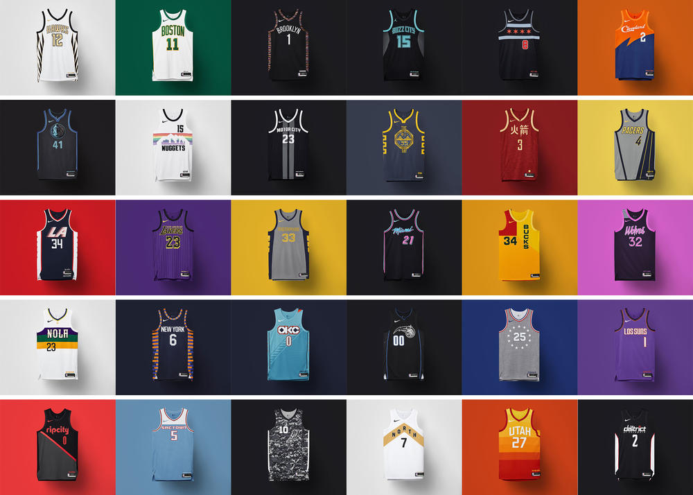 Here Are All of the NBA City Edition Uniforms for 2018-19
