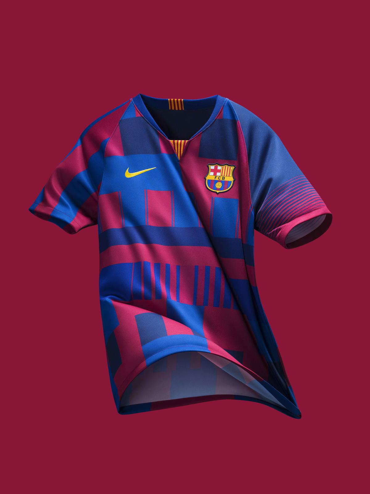 ligeramente Fácil de comprender pedir disculpas  FC Barcelona What The 20th Anniversary Jersey - Nike News