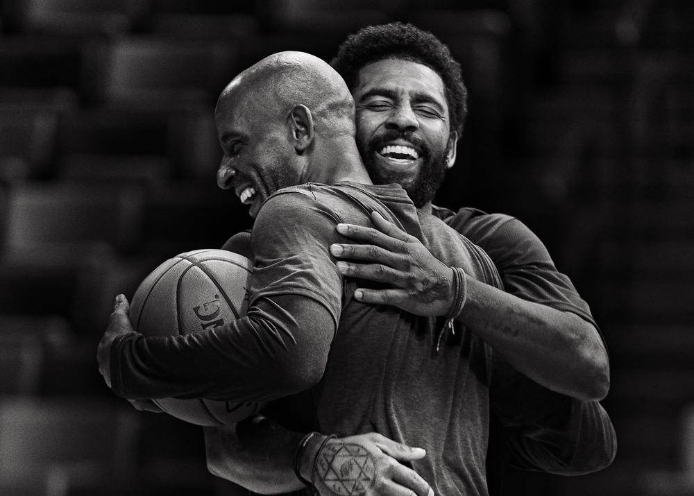 Watch Kyrie Irving Play One-On-One With His Father