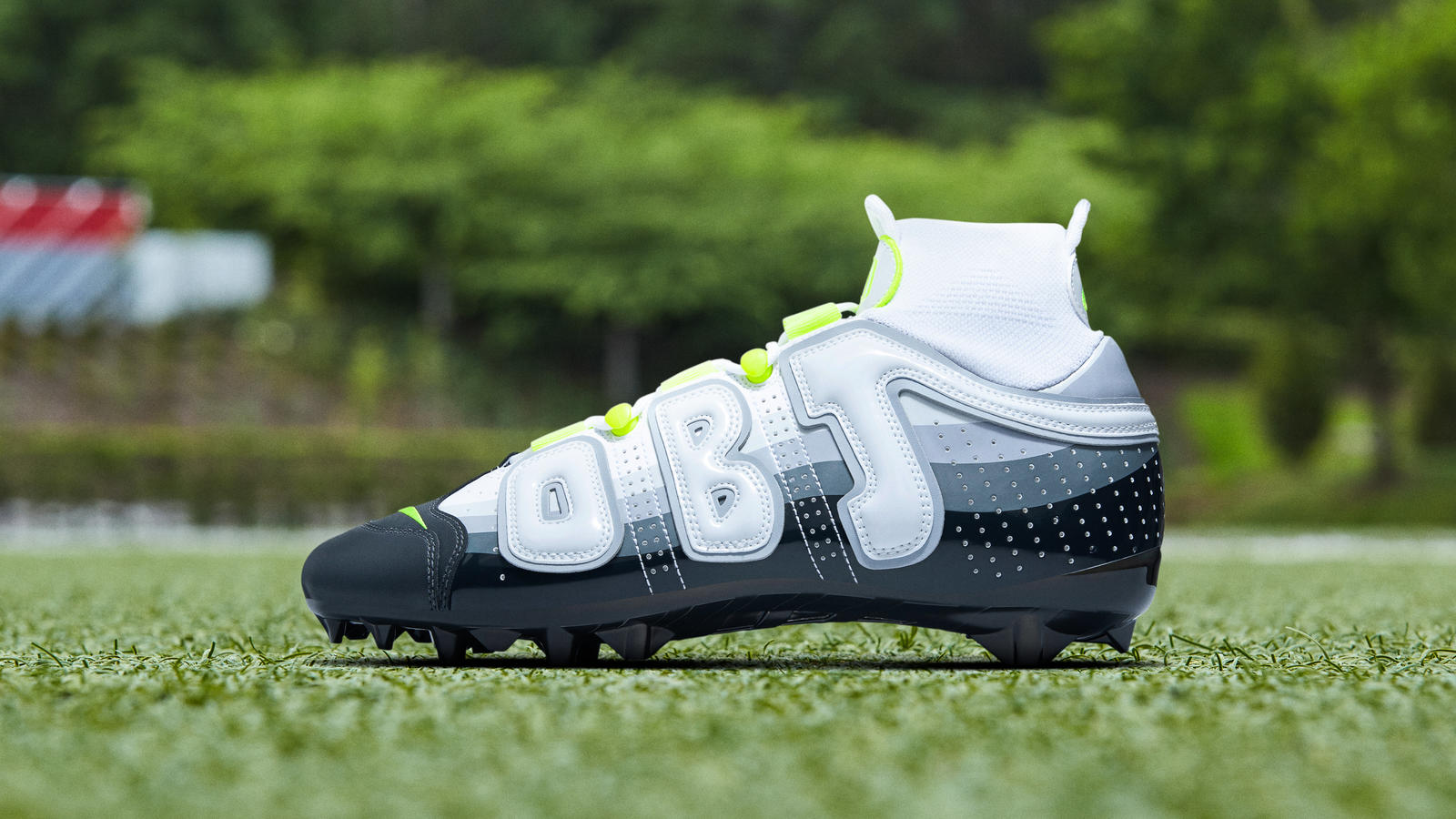OBJ Uptempos (My Cause, My Cleats Special Edition) tktk 0