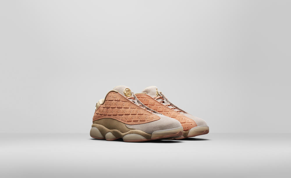 CLOT x Air Jordan XIII Low