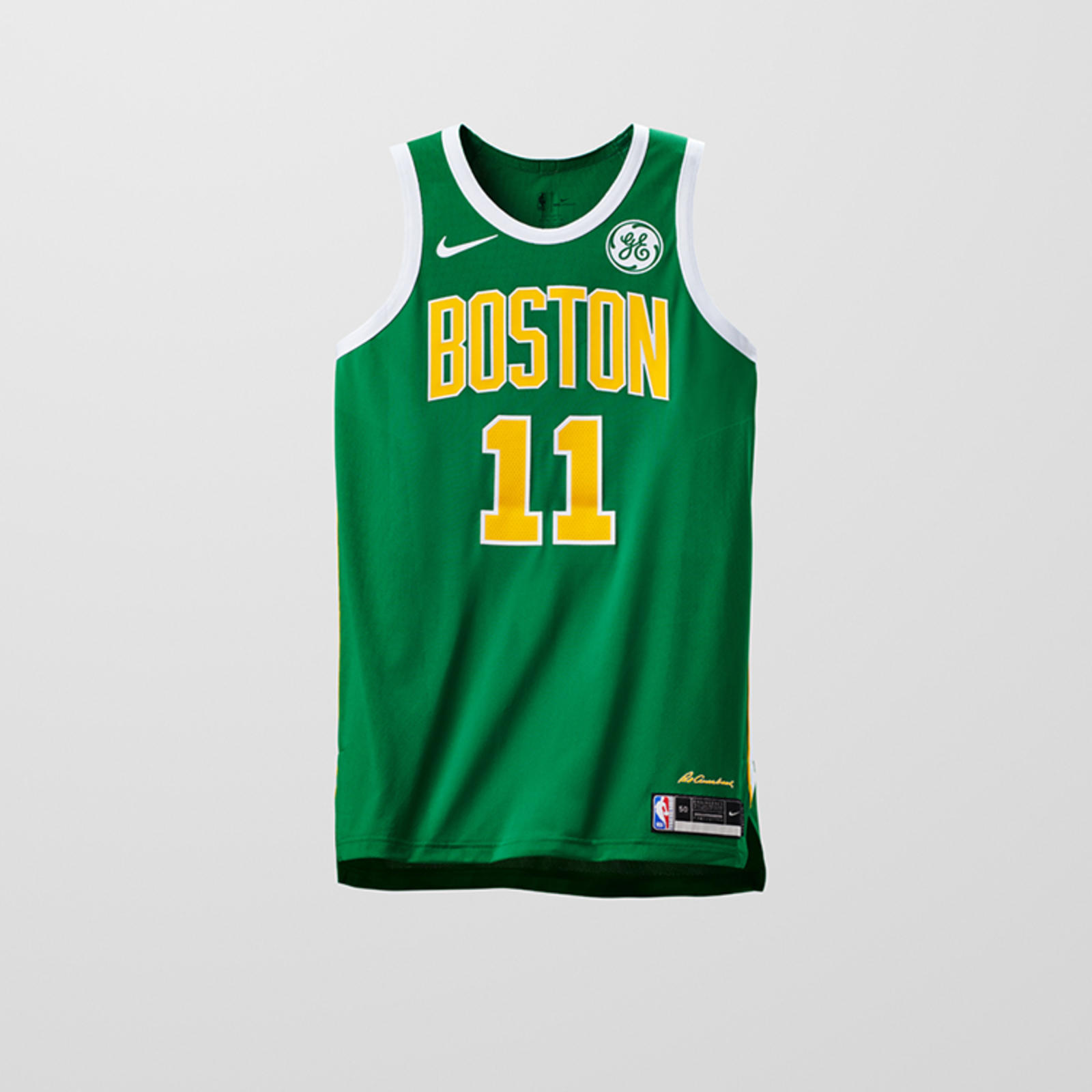 831e877d5 Introducing the Nike x NBA EARNED Edition Uniforms 1. BOSTON CELTICS