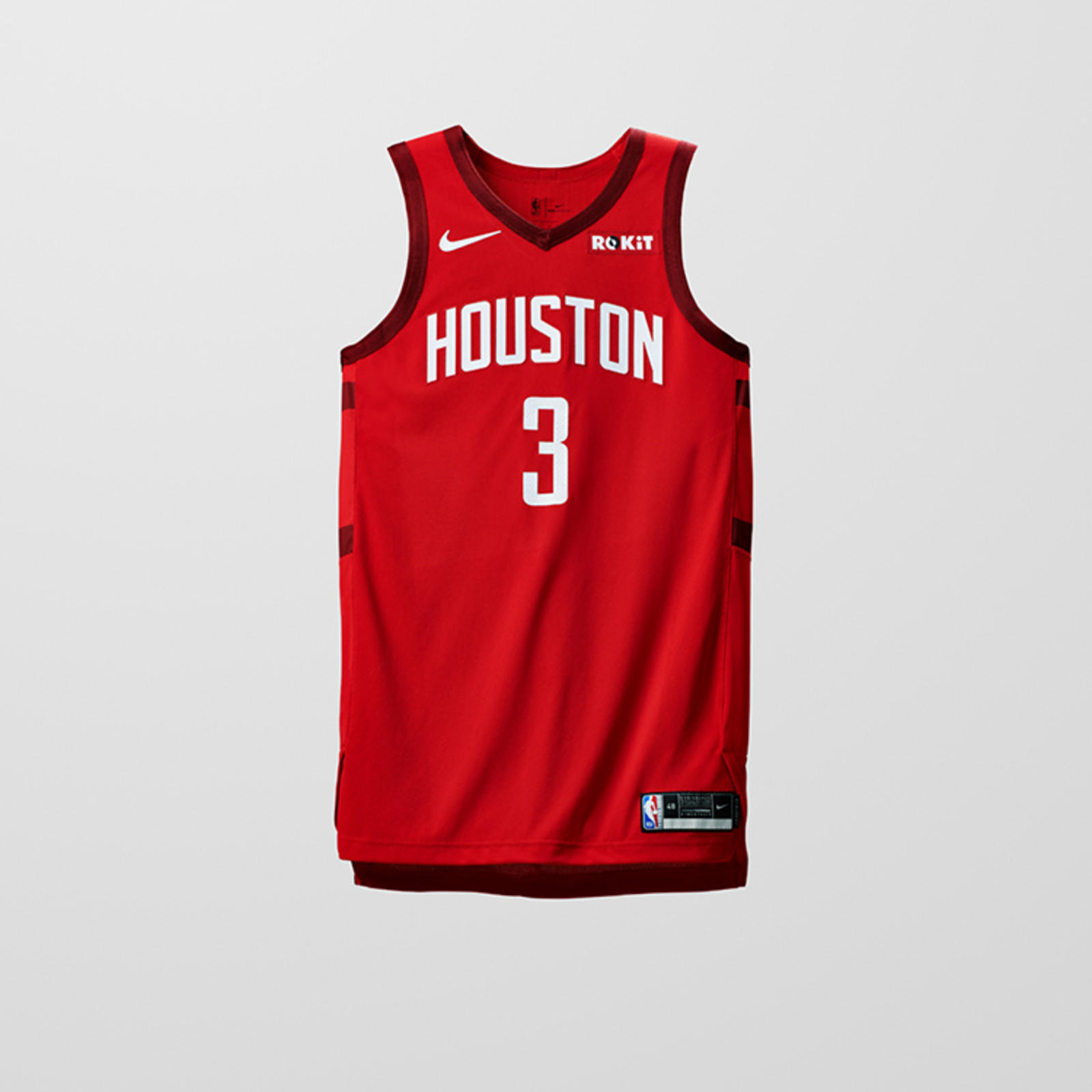 381be14382c Introducing the Nike x NBA EARNED Edition Uniforms 1. HOUSTON ROCKETS