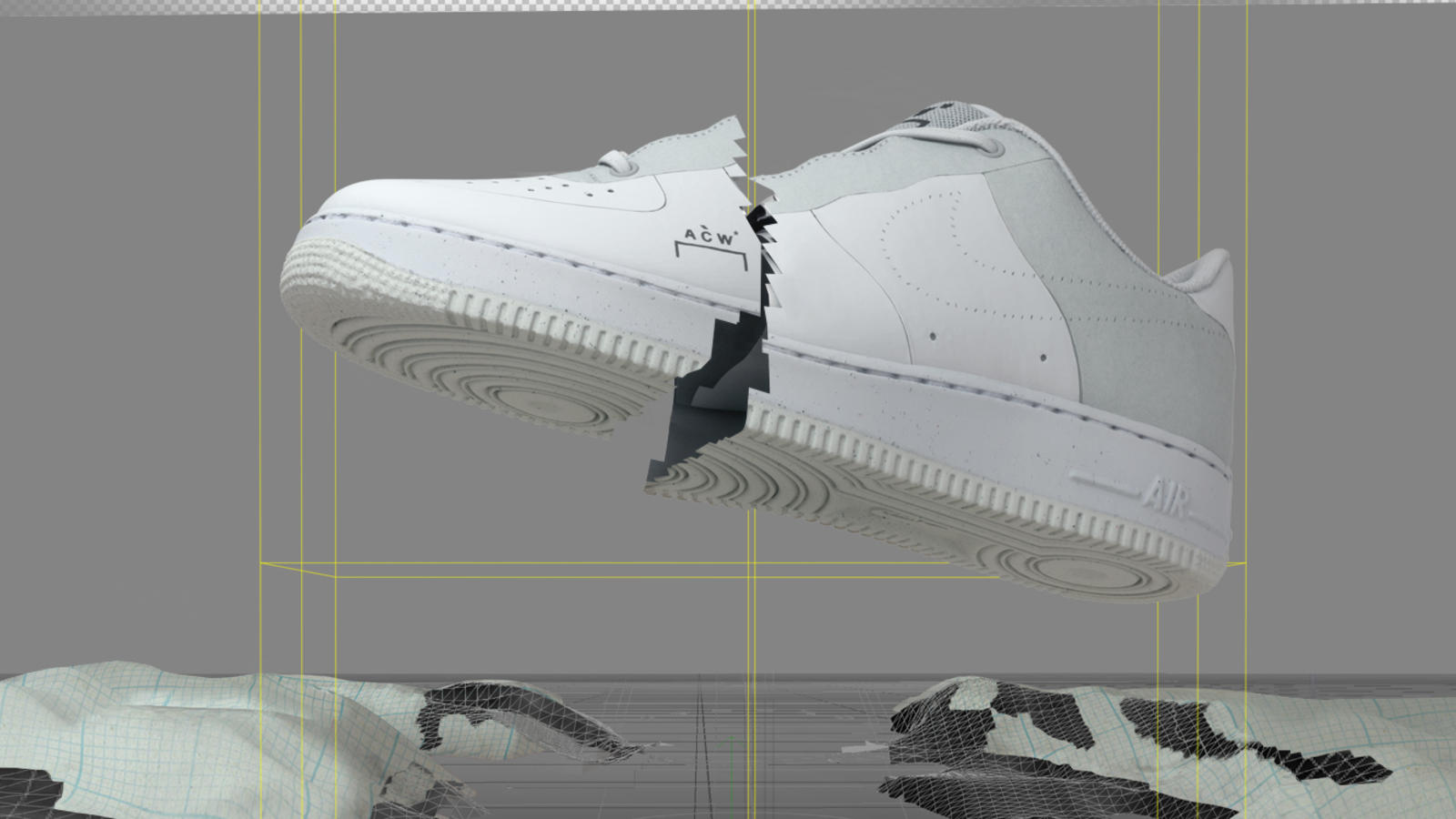 Nike x A-COLD-WALL Air Force 1 0