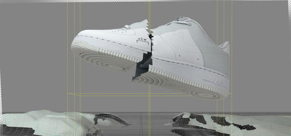 Nike x A-COLD-WALL* Air Force 1 Flyleather 1