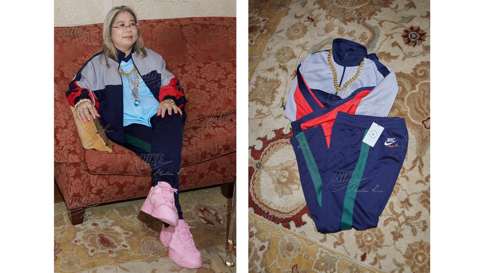 05c37d40f119 Martine Rose Nike Tracksuit and Nike Air Monarch - Nike News