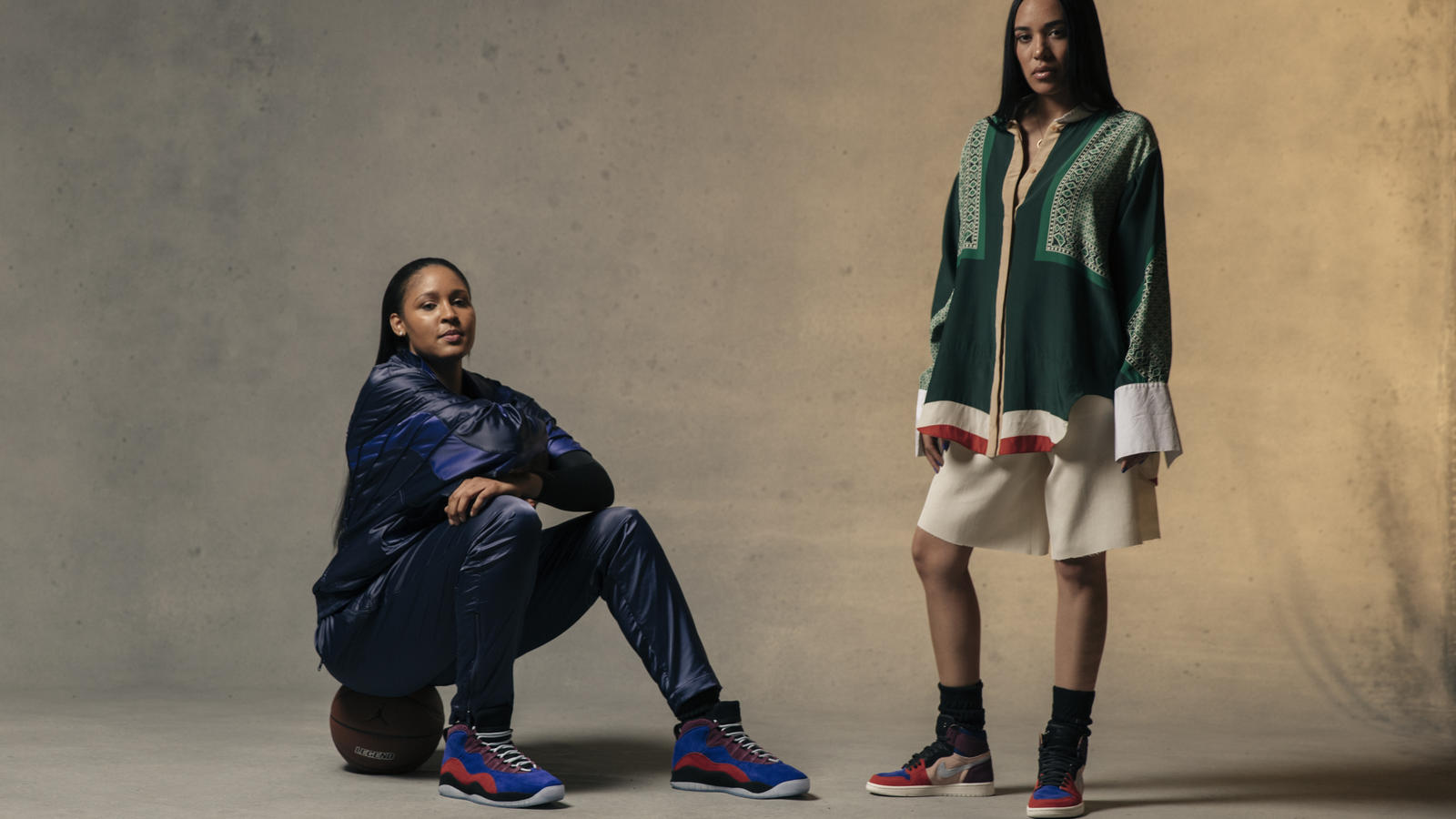 Maya Moore x Aleali May Air Jordan Court Lux Collection 9