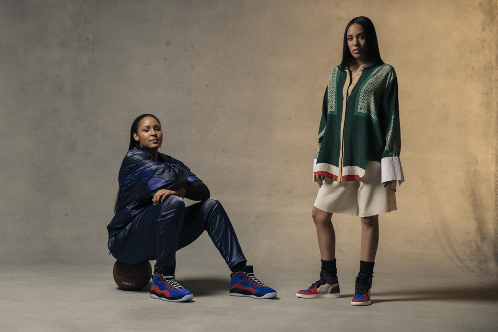 Maya Moore x Aleali May Air Jordan Court Lux Collection