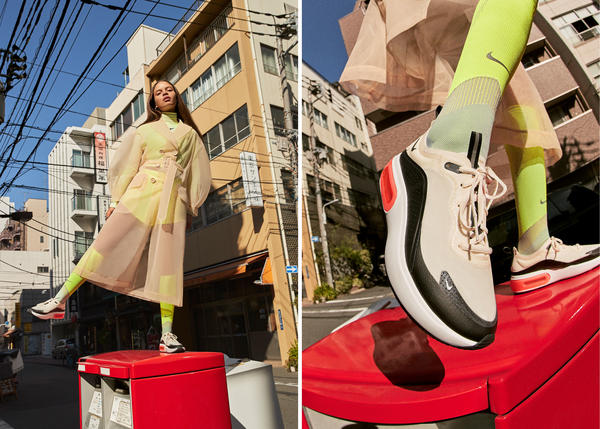 A Huge Air Bag And Modern Silhouette Combine In This New Women's Shoe 16