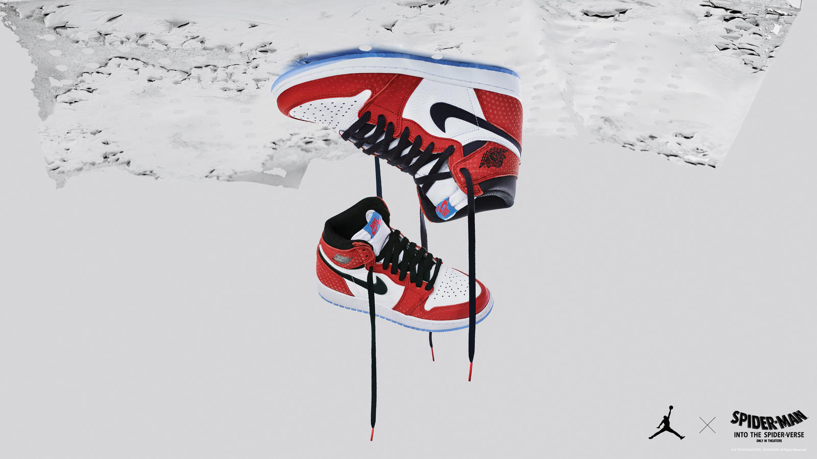 Spider-Man Into The Spider-Verse is a sneaker movie with the Air Jordan 1 Retro