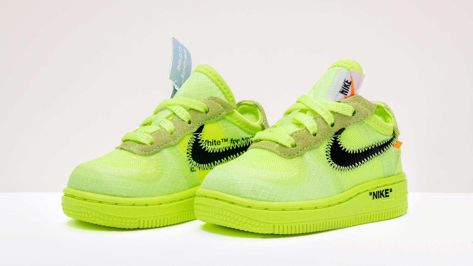 Nike Air Force 1 Utility Volt' Grade School Kids' Shoe