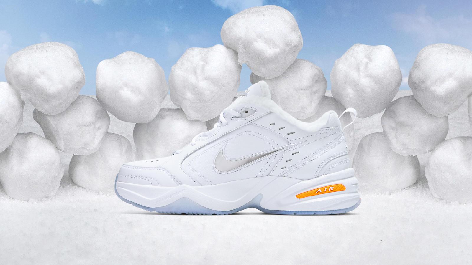 Nike Air Monarch 4 Snow Day Nike News