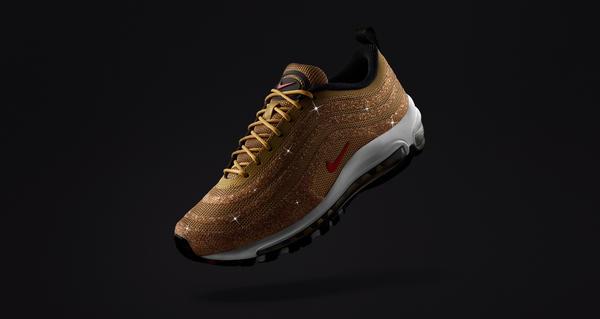 d12e6dfe9599 Nike Air Max 97 Gold Swarovski® Crystal - Nike News