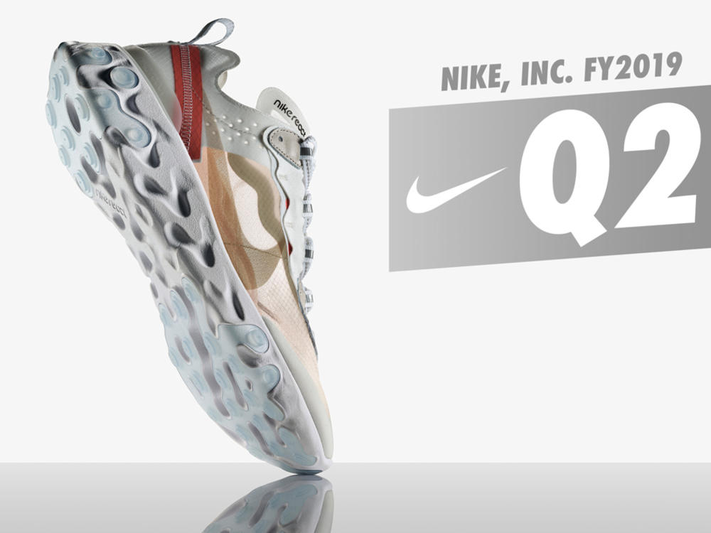 NIKE, INC. Reports Fiscal 2019 Second Quarter Results