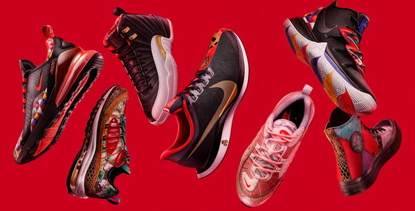743be23b62b The Year of the Pig Chinese New Year Collection Brings Together 12 Years of  Nike CNY - Nike News