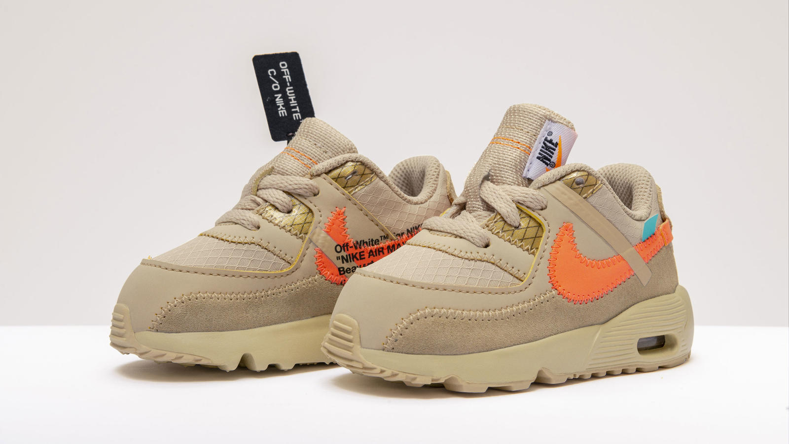 b9566e67b283b OFF-White Nike Air Max 90 Kids Sizes - Nike News