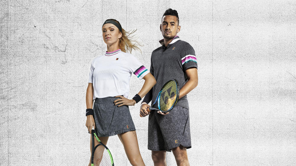 Vintage Vibes, Future Fabrics for the NikeCourt Melbourne Collection