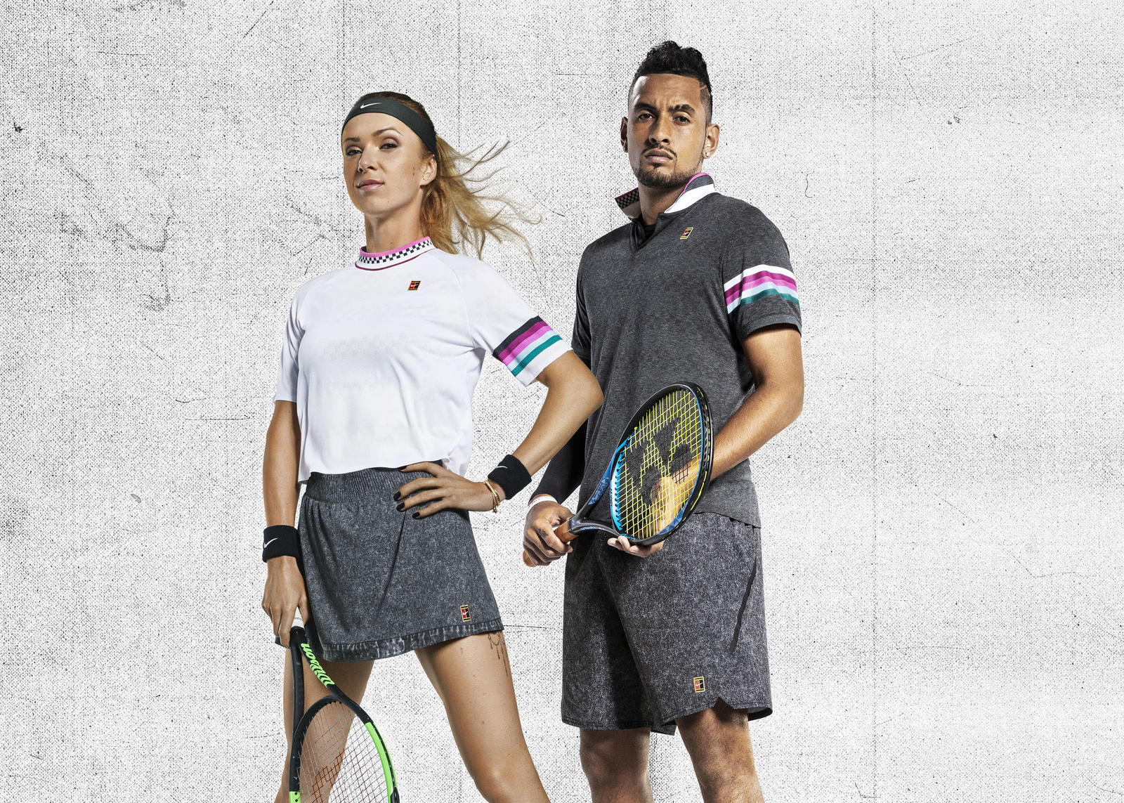 Vintage Vibes, Future Fabrics for the NikeCourt Melbourne Collection 0