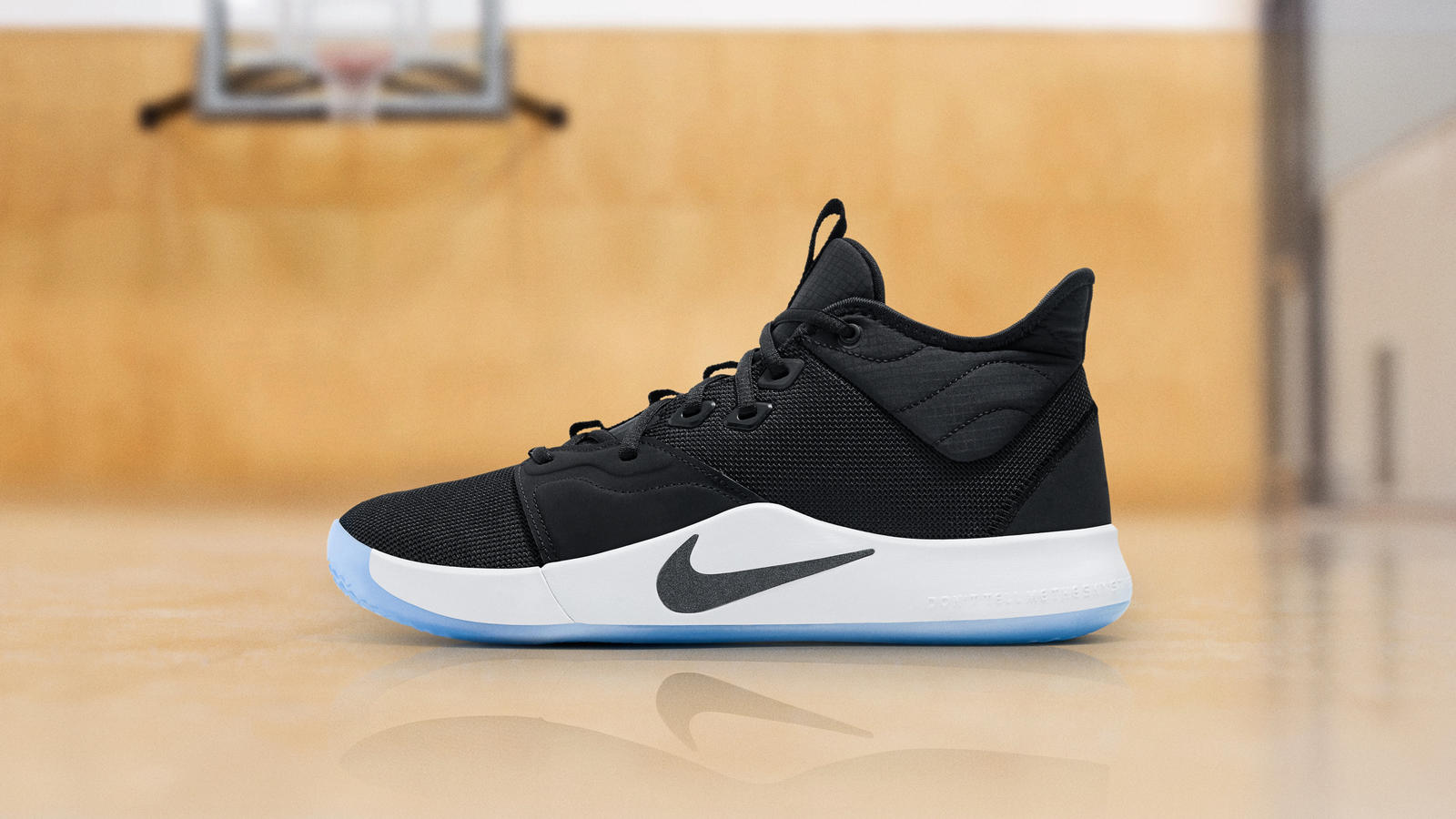 the best attitude 69703 fd33a Paul George PG3 Black and White - Nike News