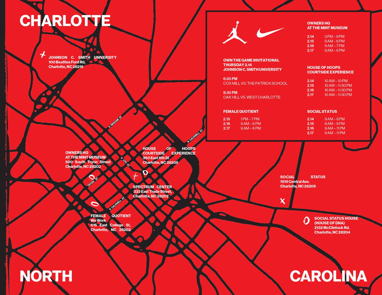 Nike Jordan Brand NBA All Star Weekend