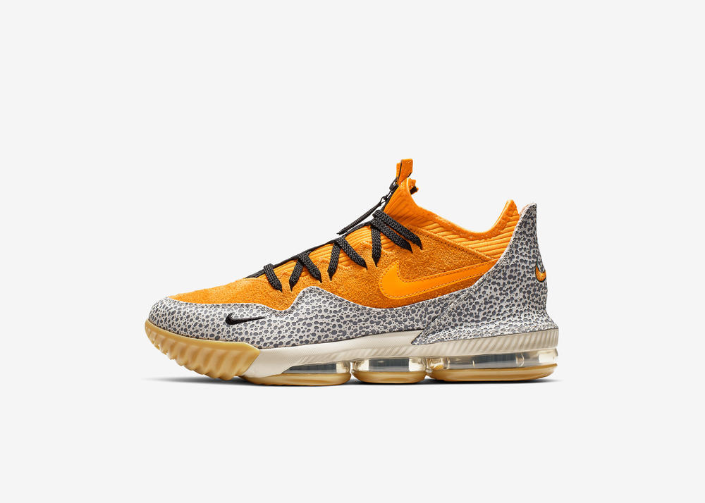 "ac435b33ba2 LEBRON 16 Low x atmos ""Safari"". nike basketball"