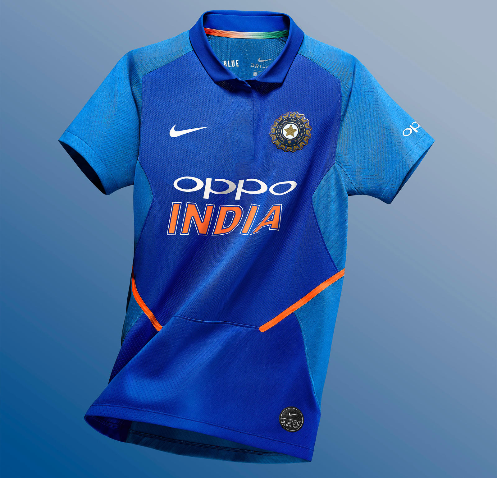 Nike Cricket India National Team Kits 2019 56751 387376 R05 Nike Apla Sp19 Cricket Womens Stadium Top Floating 1217 Hr