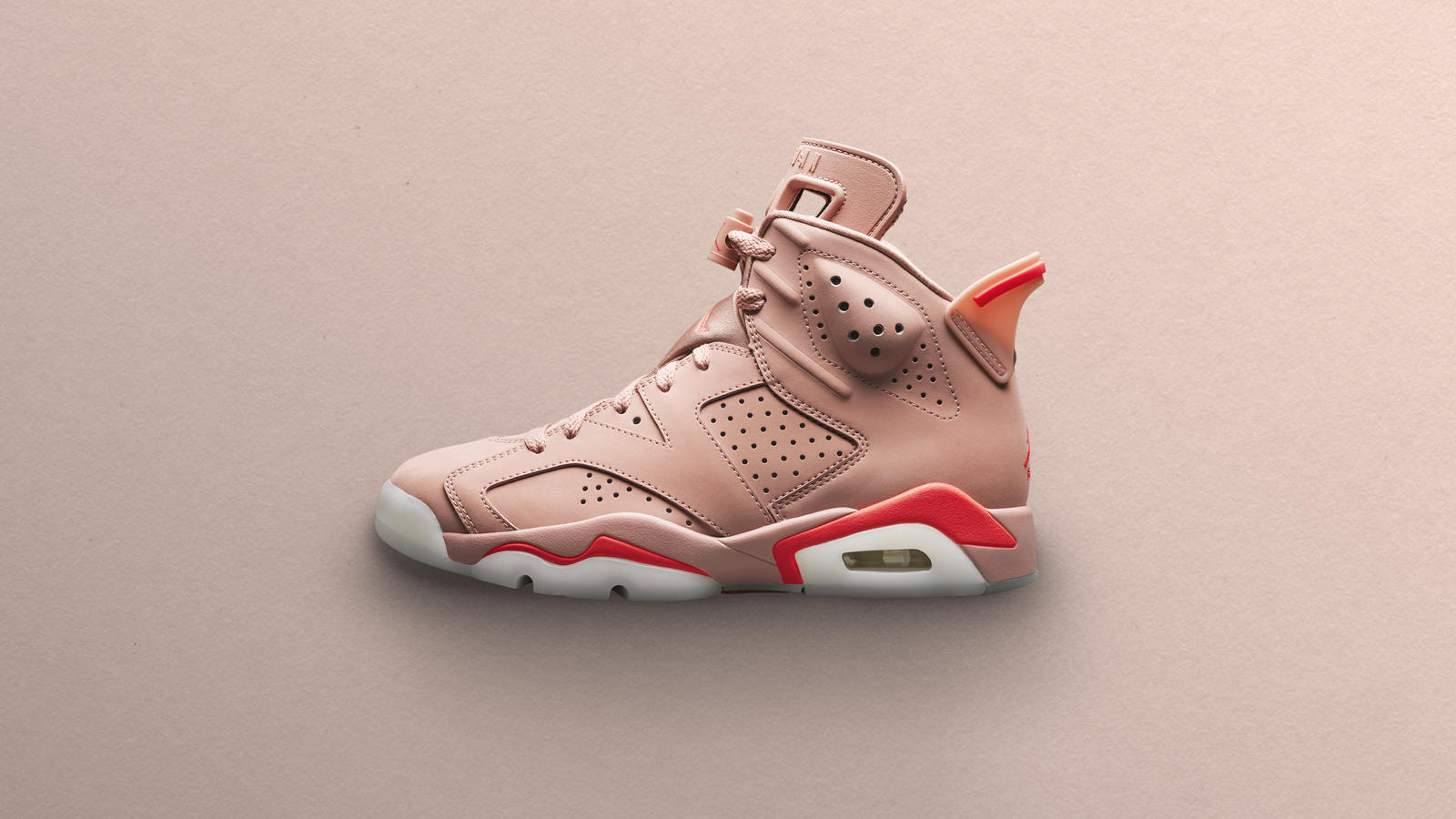 Aleali May x Air Jordan VI Millennial Pink 0