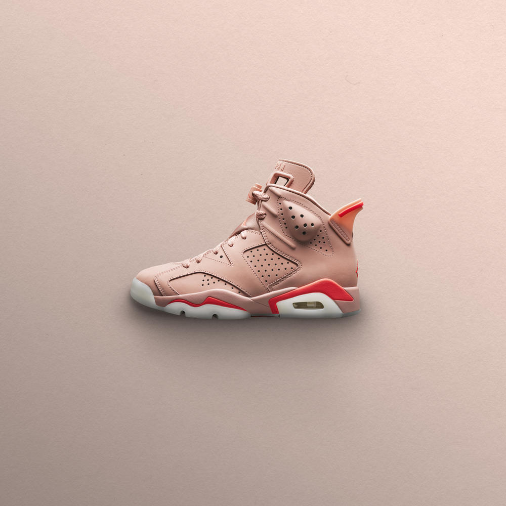 Aleali May x Air Jordan VI Millennial Pink