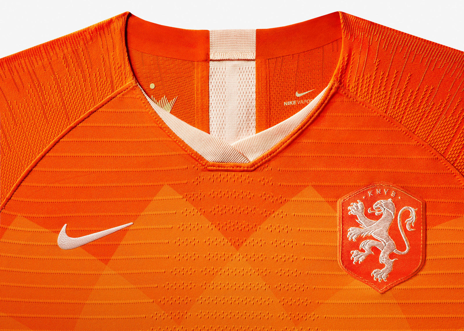 nike shirt oranje