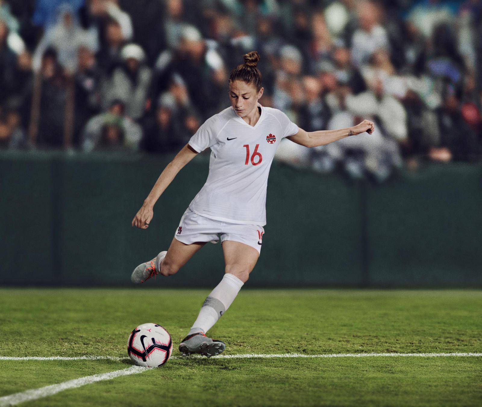 33829b5512e Canada 2019 Women s Football Kit - Nike News