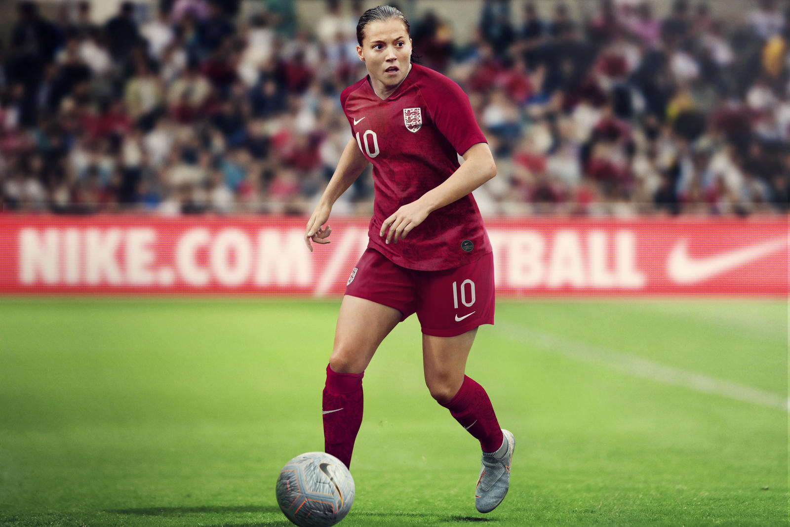 2afe01246fb England 2019 Women s Football Kit - Nike News