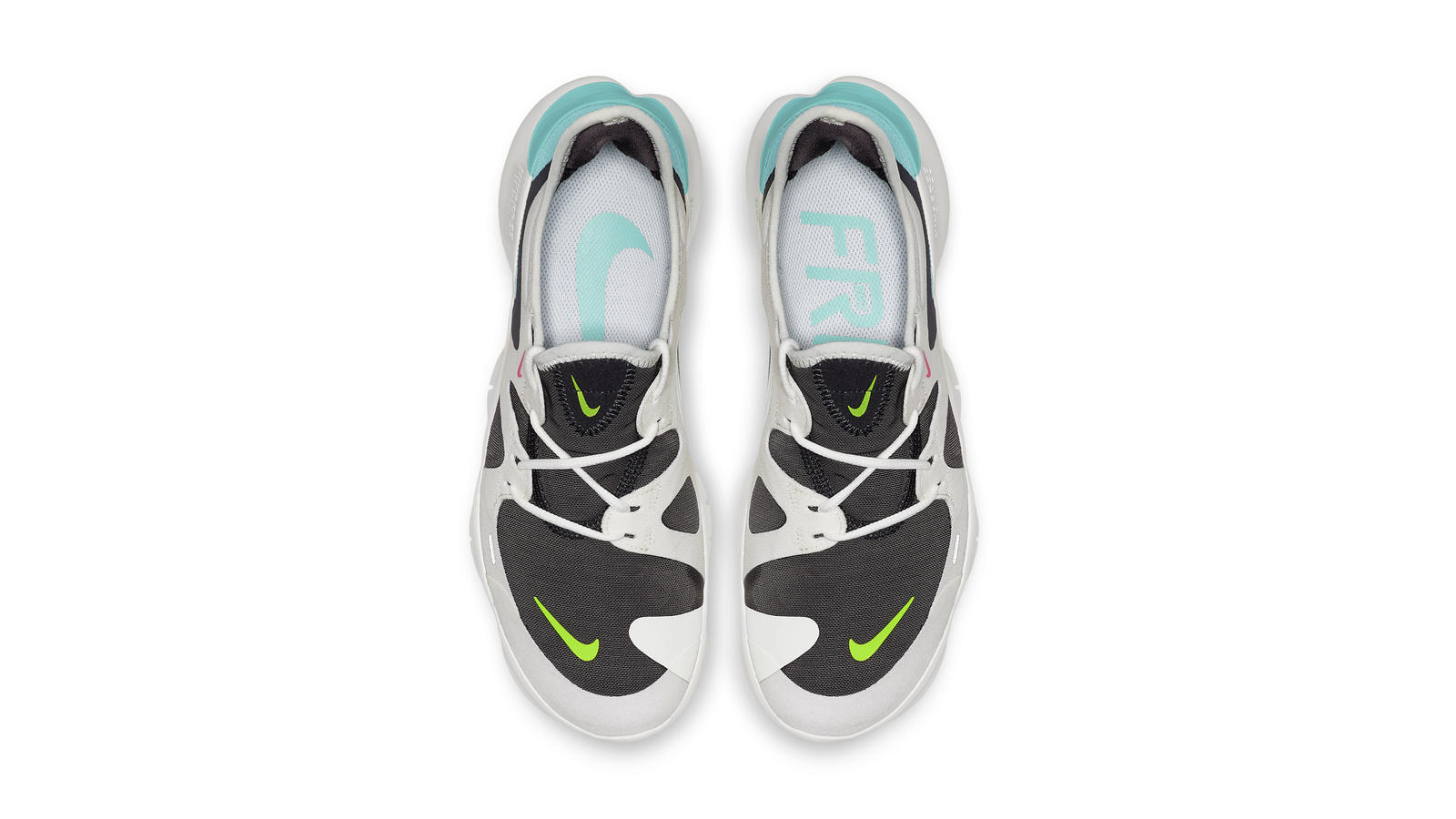 Discount Men's Nike Free Run 3.0 V5 Shoes Electric Lime