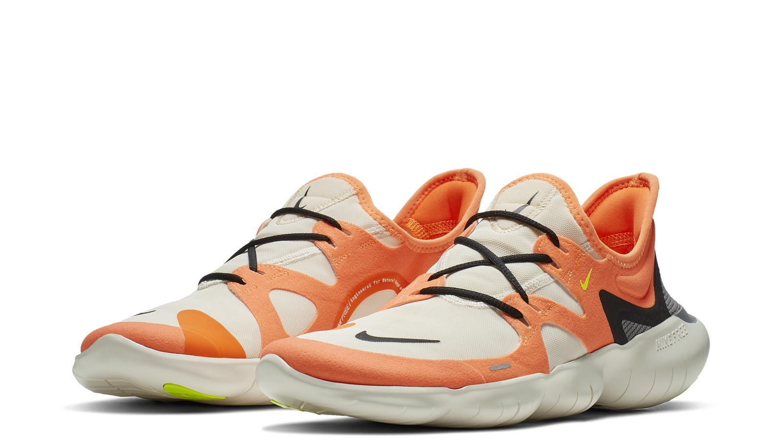 get nike free run 5.0 damänner orange lila c1c49 9ba49