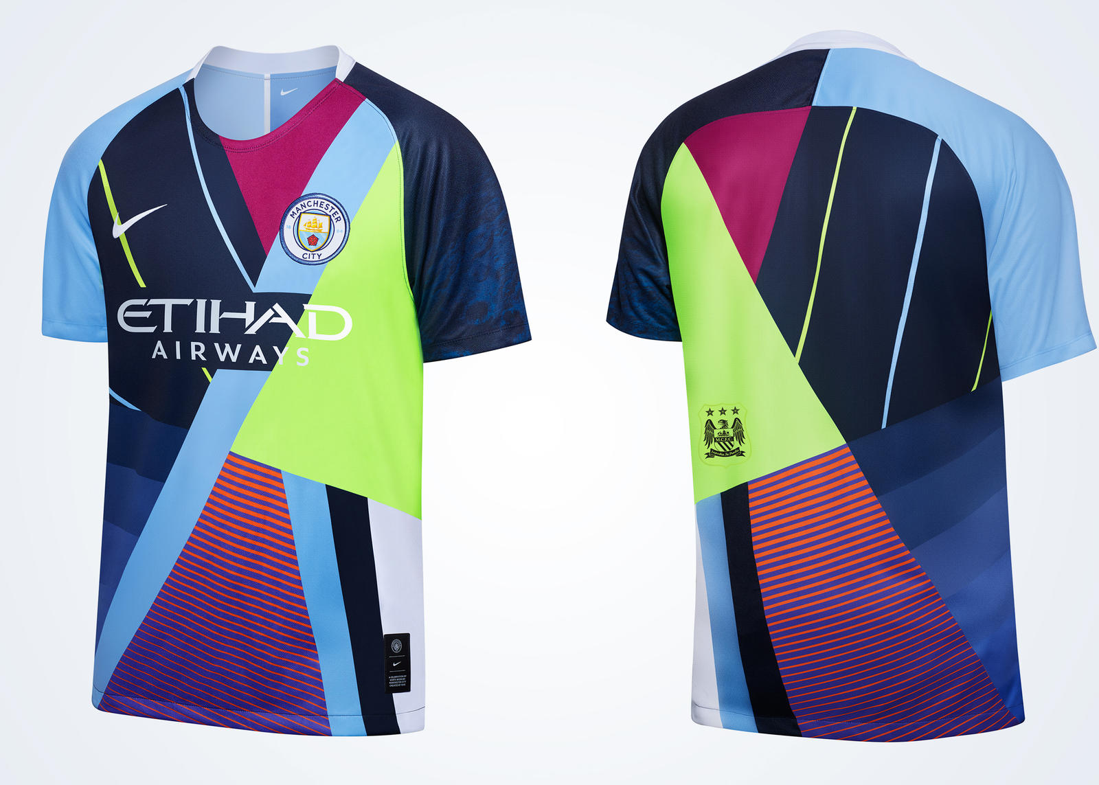 best loved a56af 8e975 Nike and Manchester City Hit the Archives to Create ...