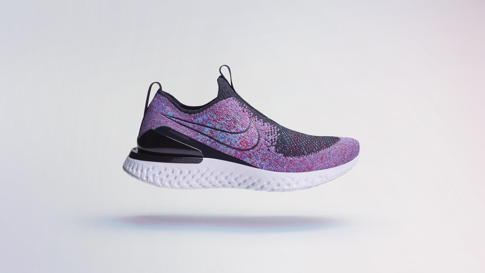 Nike Phantom React Flyknit Laceless