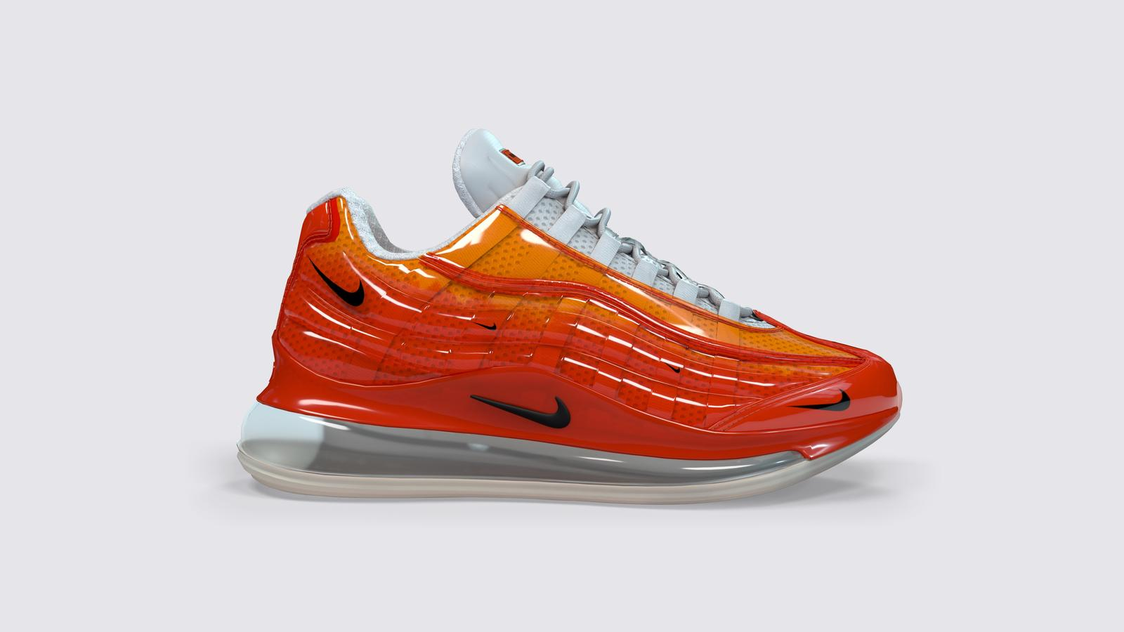 best service 92e1b c839d Nike Air Max 720 95 Heron Preston By You Official Release Info 1