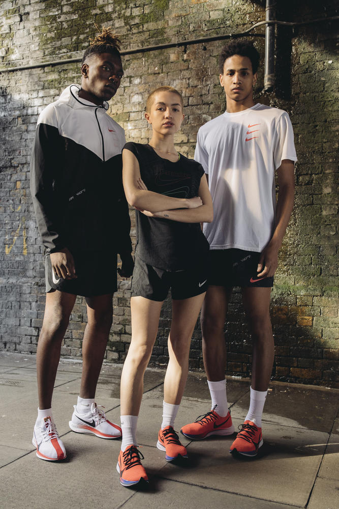 London-Inspired Running Apparel